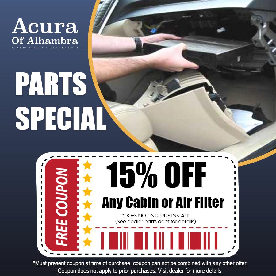 air filter offer