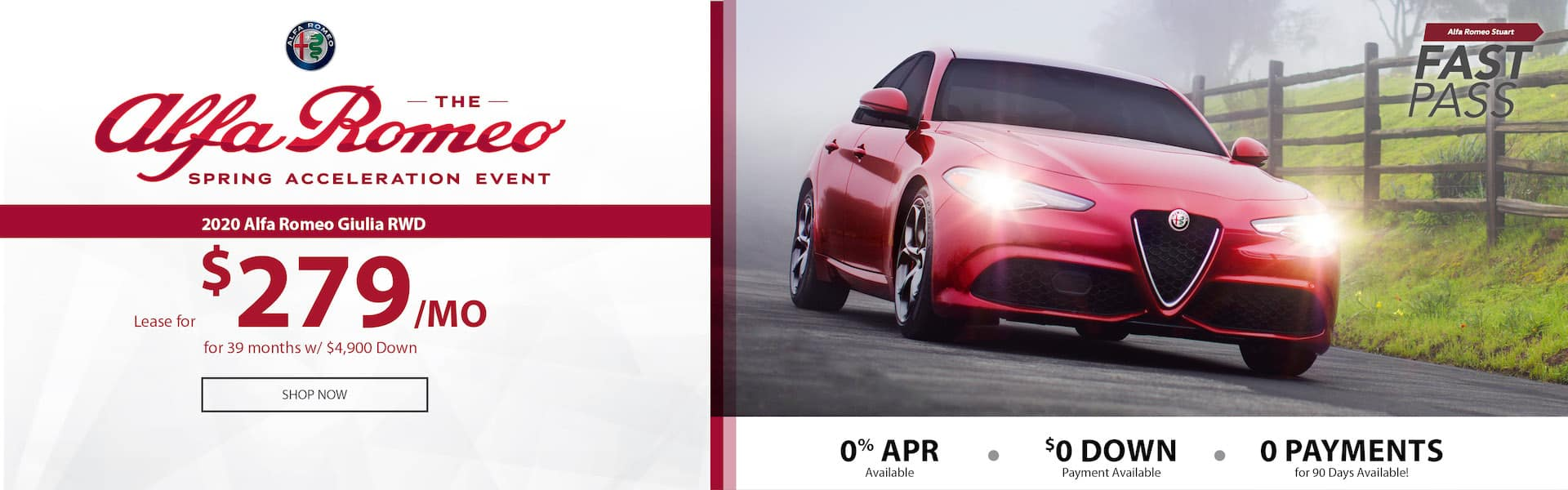 Alfa Romeo Spring Acceleration Event