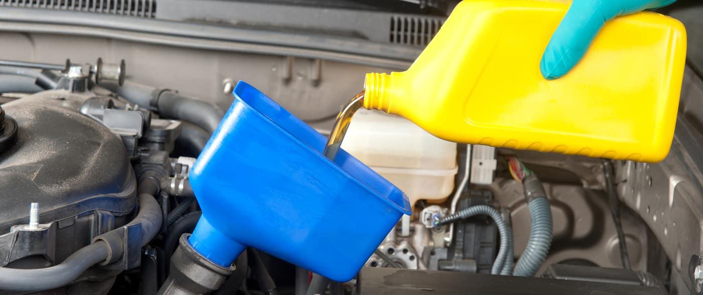 filling new oil