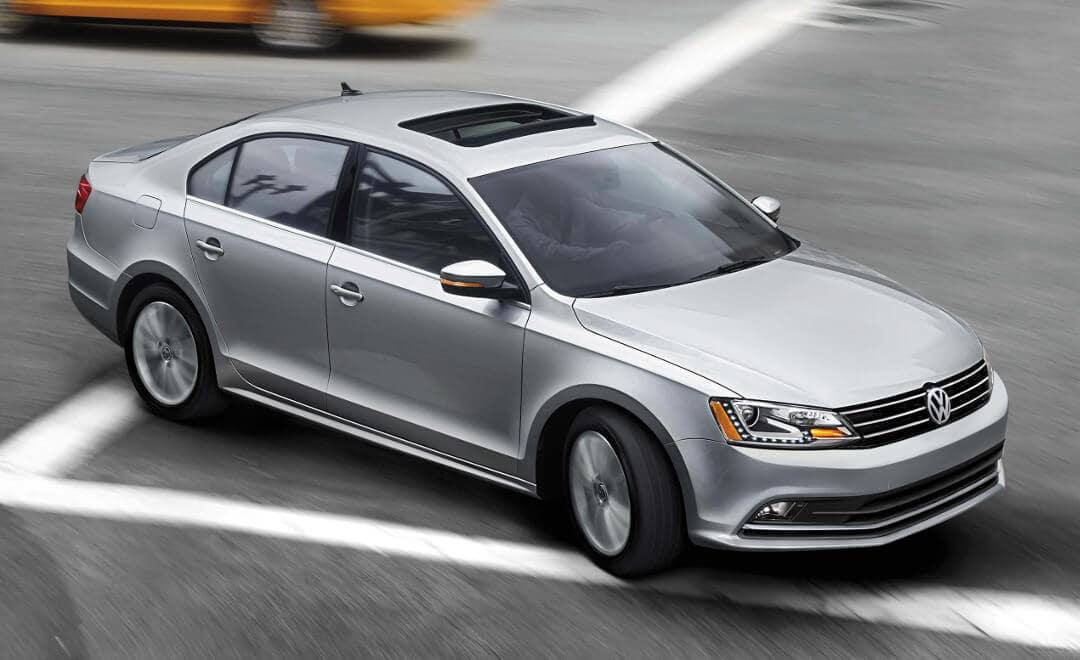 VW Vehicle Driving