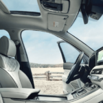 2020 Hyunda Palisade interior seating and dashboard