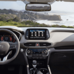 2020 Hyundai Santa Fe Interior front seat and dashboard
