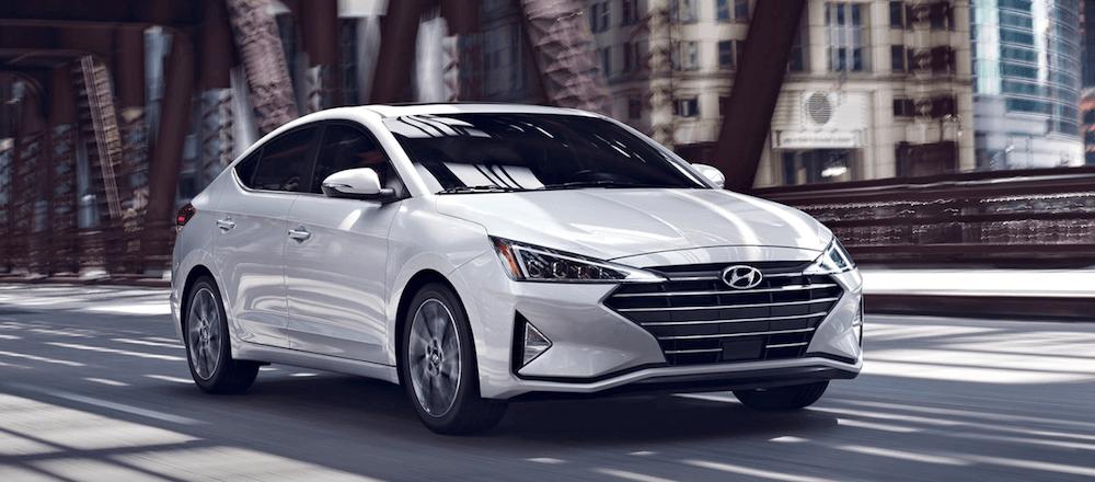 2020 Hyundai Elantra SEL driving