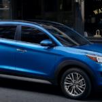 2020 Hyundai Tucson parked on city street