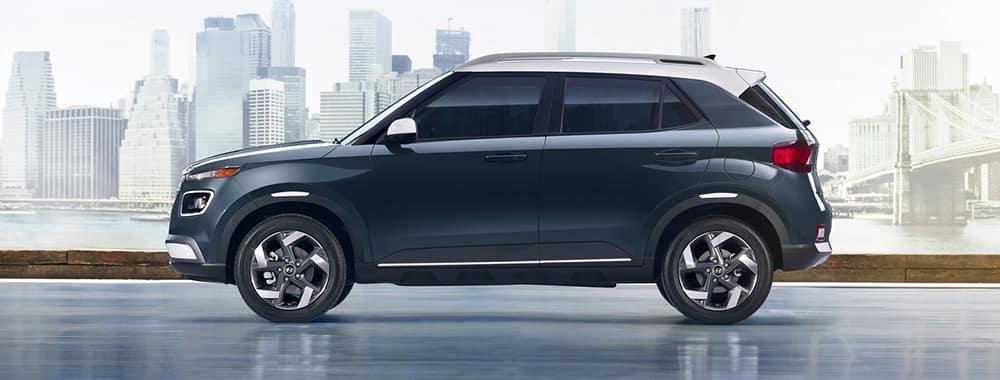 2021 Hyundai Venue Side Profile