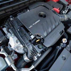 2019 Nissan Altima turbocharged engine