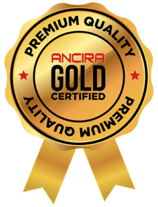 Ancira Gold Certified Ribbon