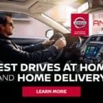 Test Drives at Home - San Antonio Ancira Nissan