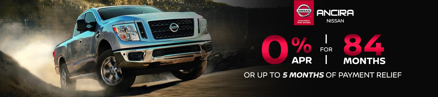 Zero Percent APR for 84 months - Ancira Nissan