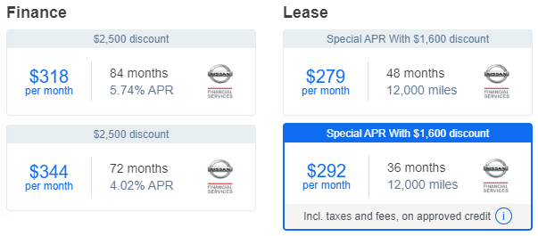 Ancira Direct - Lease vs Finance