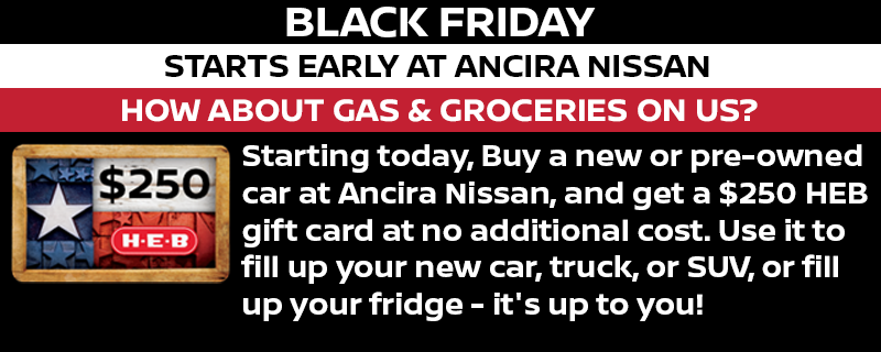 Black Friday in San Antonio - Ancira Nissan