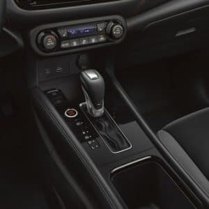 2021 Nissan Kicks gearshift