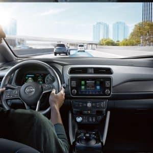 2021 Nissan Leaf Interior