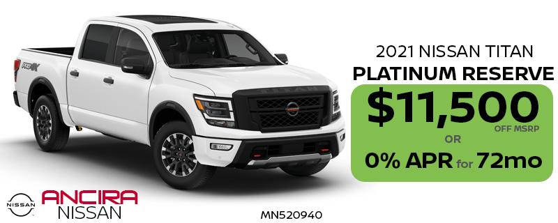 2021 Nissan Titan for sale in San Antonio near Boerne - Ancira Nissan