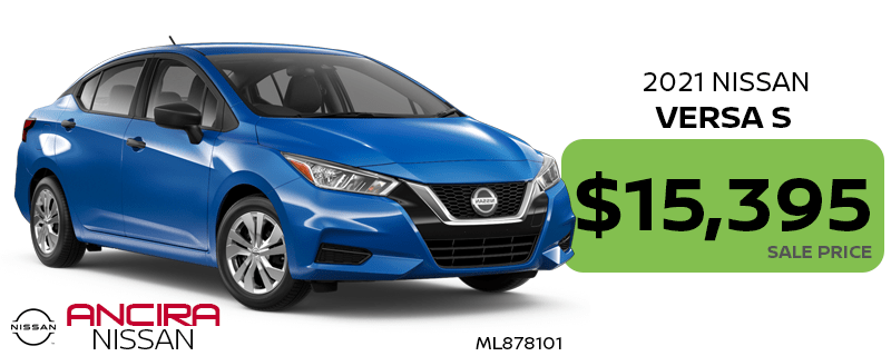 2021 Nissan Versa for sale in San Antonio near Boerne - Ancira Nissan
