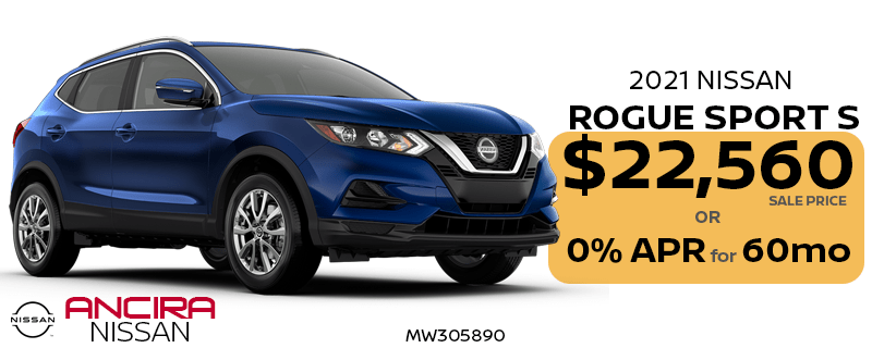 2021 Nissan Rogue Sport for sale in San Antonio - Ancira Nissan