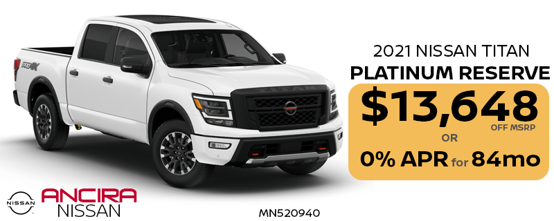 2021 Nissan Titan truck for sale in San Antonio - Ancira Nissan