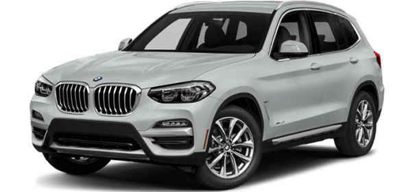 BMW X SUV Front Exterior