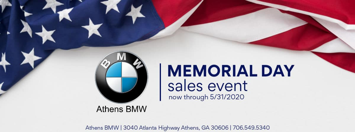 Athens BMW Memorial Day Sales Event 2020