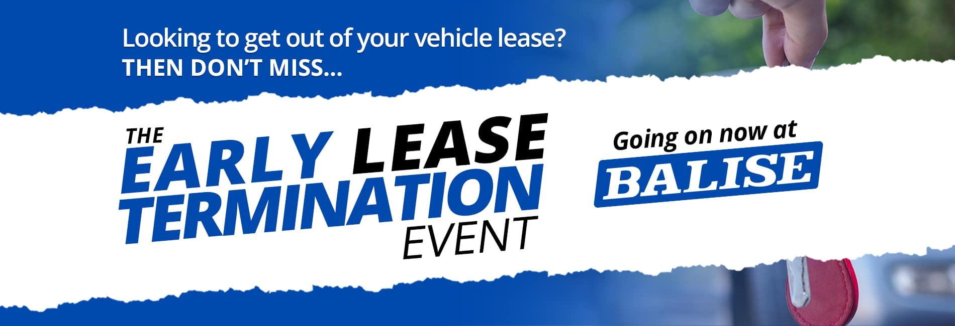 Balise Early Lease Termination Event