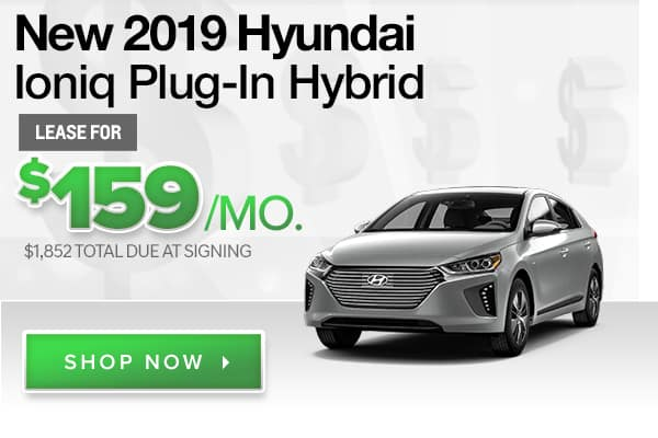 New 2019 Hyundai Ioniq Plug-in Hybrid