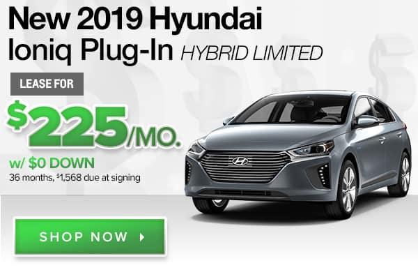 New 2019 Hyundai Ioniq Plug-in Hybrid Limited
