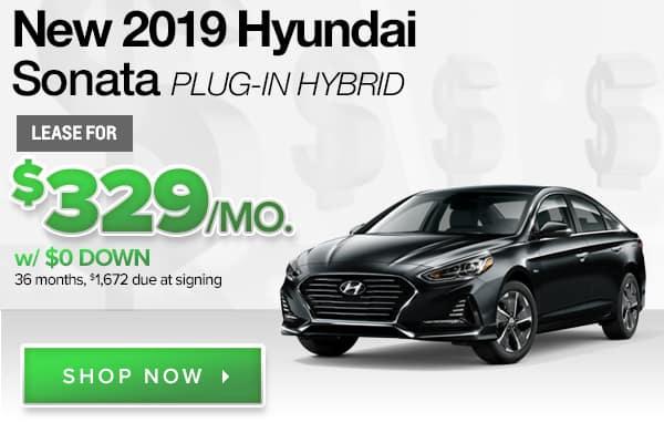 New 2019 Hyundai Sonata Plug-in Hybrid
