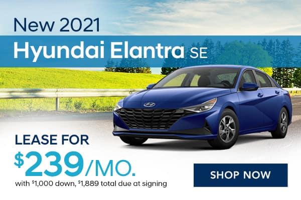New 2021 Hyundai Elantra SE