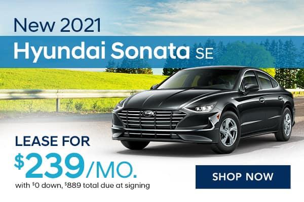 New 2021 Hyundai Sonata SE