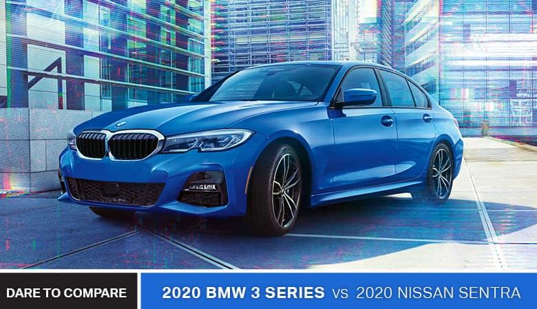 2020 BMW 3 Series vs. 2020 Nissan Sentra - Bert Ogden BMW in McAllen, TX