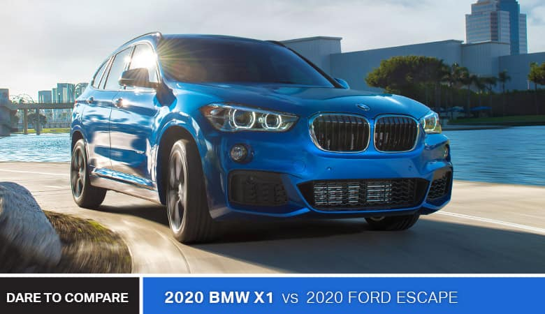 2020 BMW X1 vs. 2020 Ford Escape - Bert Ogden BMW in McAllen, TX