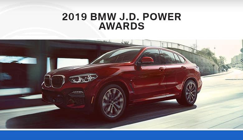 Recent J.D. Power Awards for BMW Models | Bert Ogden BMW | McAllen, TX