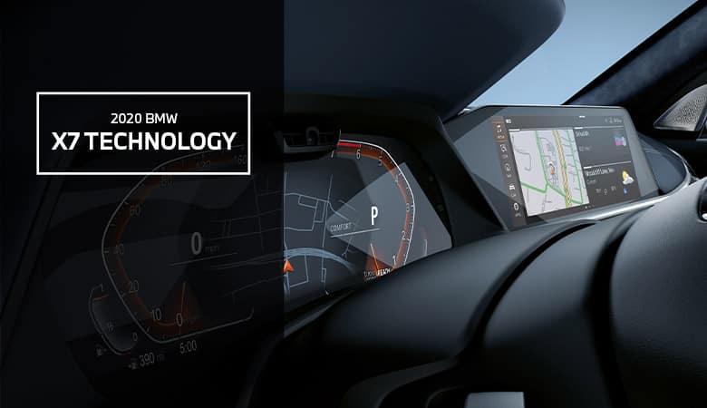 Technology features of the 2020 BMW X7 - Bert Ogden BMW in McAllen, TX