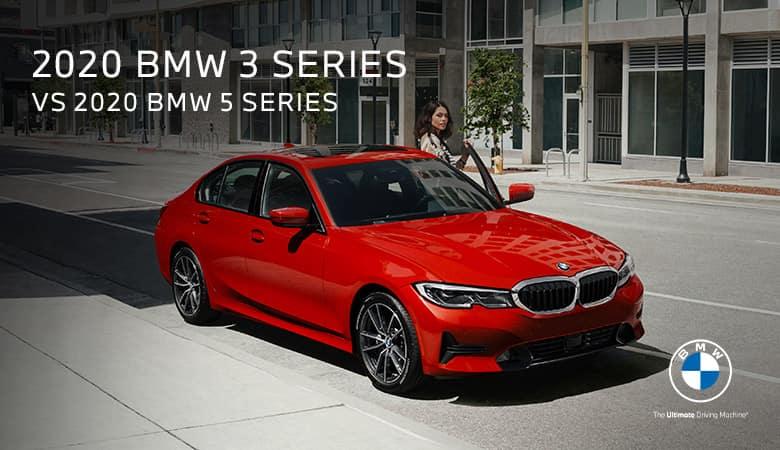 2020 BMW 3 Series vs. 2020 BMW 5 Series - Bert Ogden BMW in McAllen, Texas
