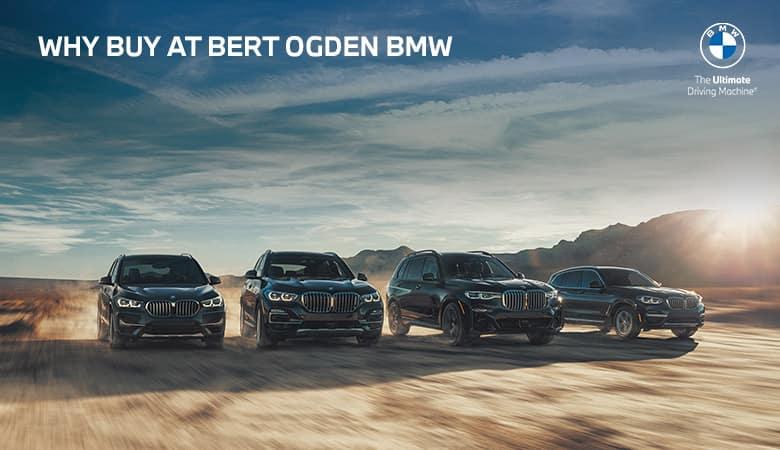 Why Buy at Bert Ogden BMW in McAllen, Texas