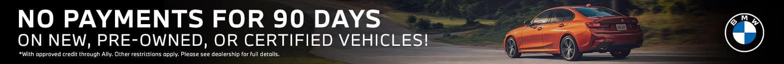 No Payments For 90 Days - Bert Ogden BMW in McAllen, Texas