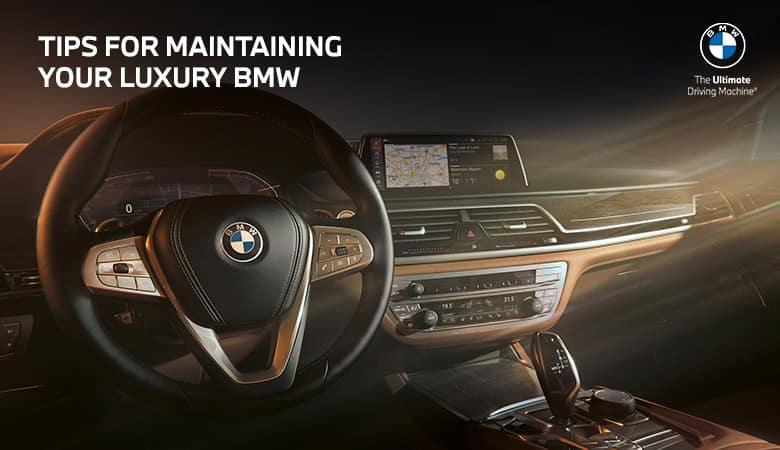 Tips For Maintaining Your Luxury BMW - Bert Ogden BMW in McAllen, Texas
