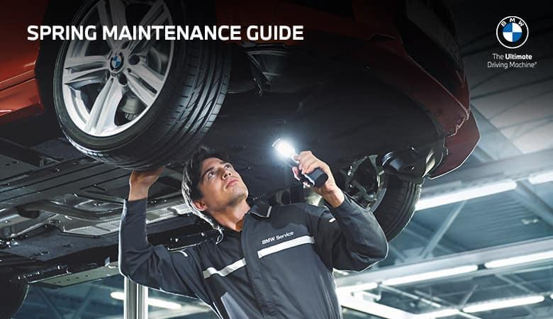 Spring Maintenance Guide - Bert Ogden BMW in McAllen, TX