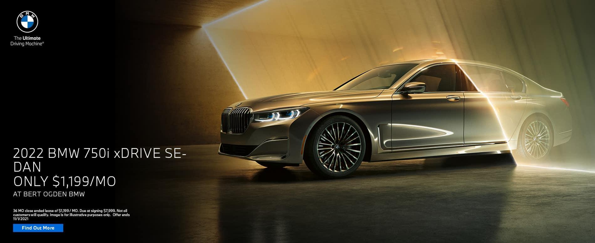 2022 BMW 750i xDrive Sedan Offer   Bert Ogden BMW in McAllen, Texas