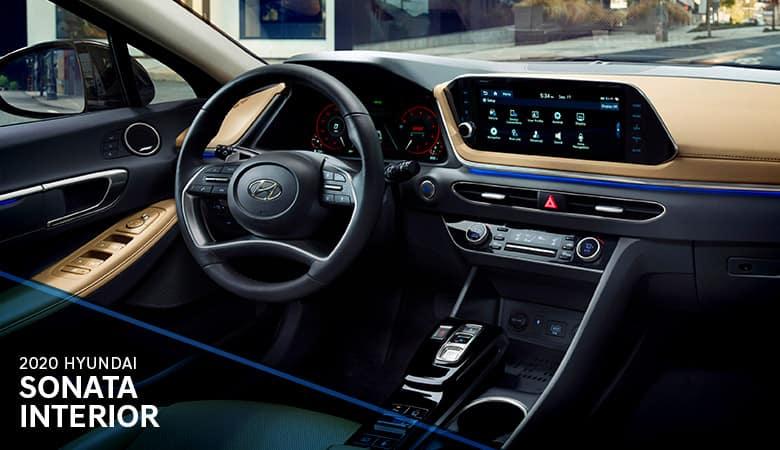 2020 Hyundai Sonata Interior   Bert Ogden Hyundai   Harlingen, TX