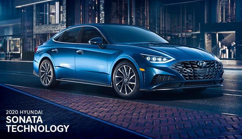 2020 Hyundai Sonata Technology | Bert Ogden Hyundai | Harlingen, TX