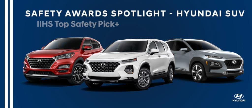 Safety Awards for Hyundai SUVs - Bert Ogden Hyundai - Harlingen, TX