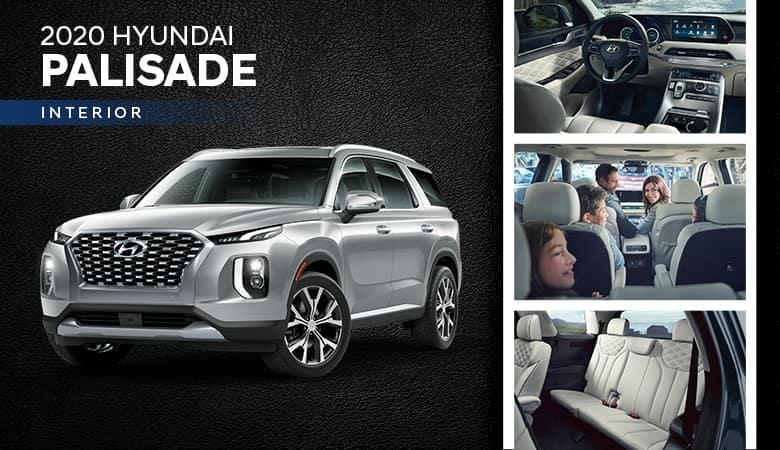 2020 Hyundai Palisade Interior | Bert Ogden Hyundai | Harlingen, TX