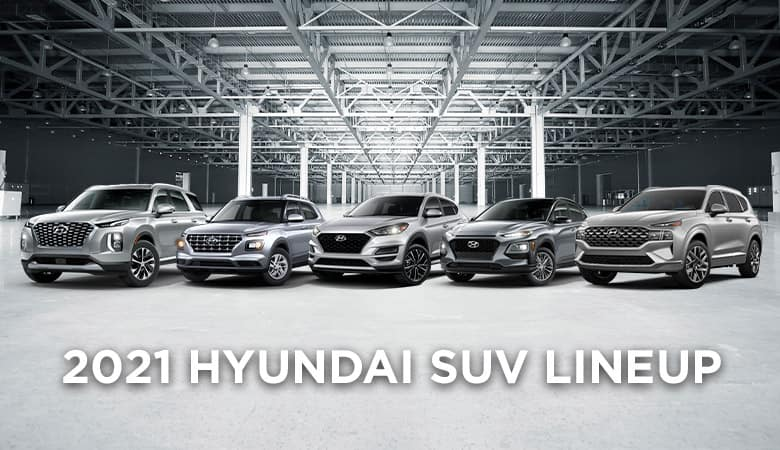 2021 Hyundai SUV Lineup | Bert Ogden Hyundai | Harlingen, TX