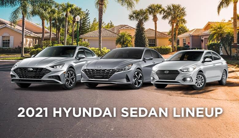 2021 Hyundai Sedan Lineup | Bert Ogden Hyundai | Harlingen, TX