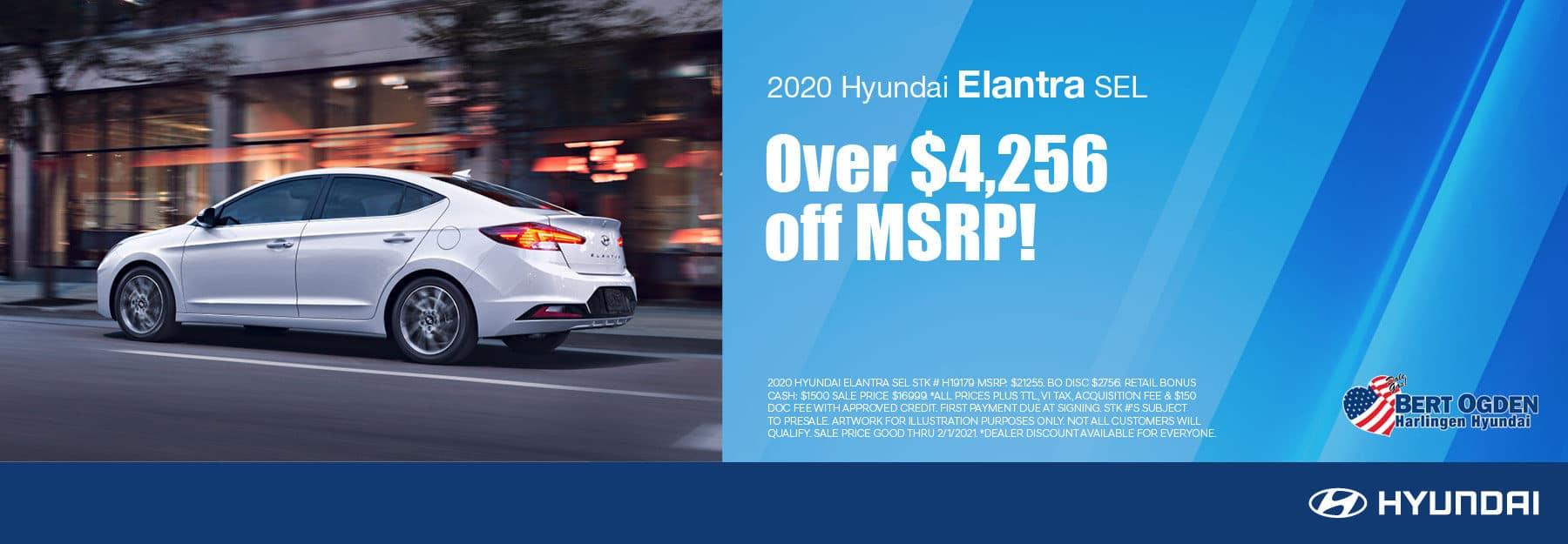 2020 Hyundai Elantra | Bert Ogden Hyundai | Harlingen, TX