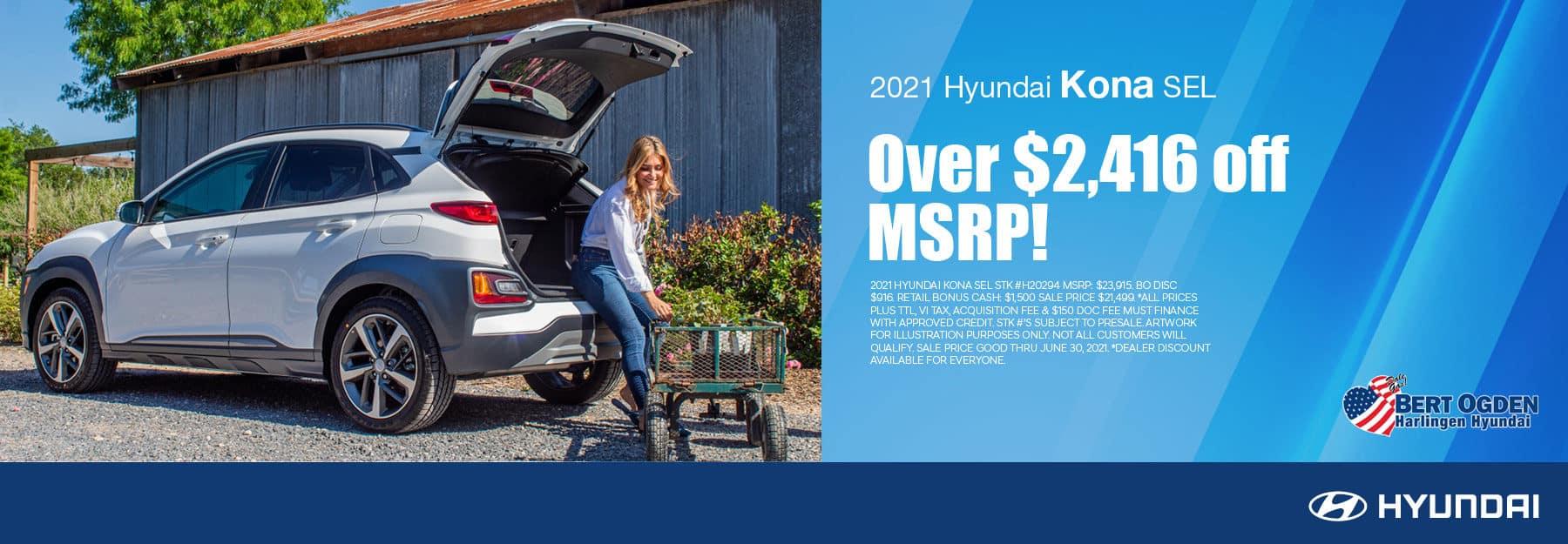 2021 Hyundai Kona | Harlingen, TX
