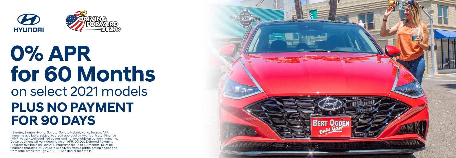 0% APR For 60 Months - Bert Ogden Harlingen Hyundai in Harlingen, Texas