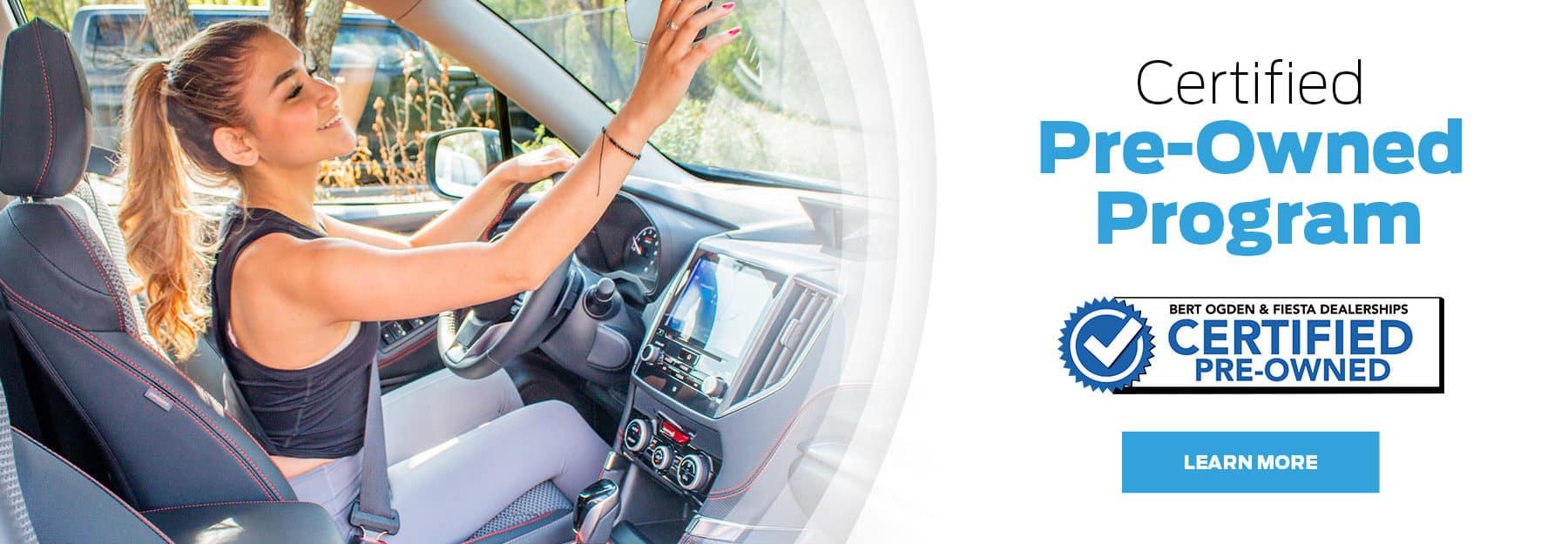 Certified Pre-Owned Program - Bert Ogden Hyundai in Harlingen, Texas