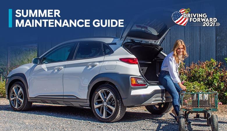 Summer Maintenance Guide - Bert Ogden Hyundai in Harlingen, Texas